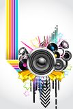 Abstract Musical Background Royalty Free Stock Images