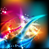 Abstract musical background Stock Image