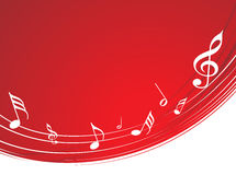 Abstract musical background Royalty Free Stock Photos