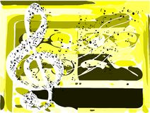 Abstract Musical background colorful Stock Photo