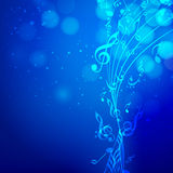 Abstract musical background. Stock Photo