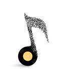 Abstract musical illustration Royalty Free Stock Photos