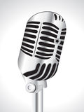 Abstract musical mic Stock Photography