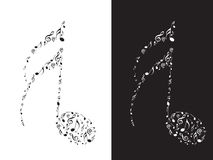 Abstract Musical notes Stock Photography