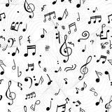 Abstract musical pattern Stock Photo