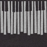 Abstract musical piano keys - seamless background - leather surf Royalty Free Stock Images