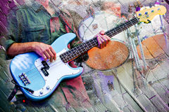 Free Abstract Musicians Stage Royalty Free Stock Photos - 60344878