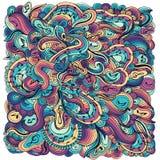 Abstract muzikaal ontwerp als achtergrond Vector Royalty-vrije Stock Afbeelding