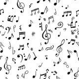 Abstract muzikaal patroon voor uw ontwerp vector illustratie