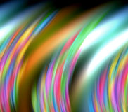 Abstract mysterious background in rainbow hues Stock Photography