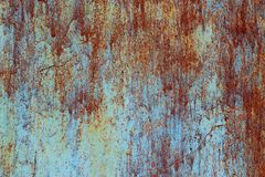 Abstract mystical background with rusty metal texture. Stock Image