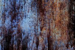 Abstract mystical background with rusty metal texture in horror Royalty Free Stock Photo