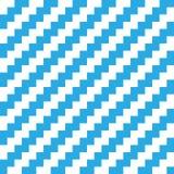 Abstract naadloos achtergrondchevronpatroon in blauw en wit Vector illustratie stock illustratie