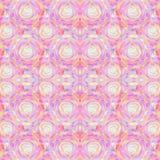 Abstract naadloos acryl sierpatroon Naadloze textuur in impressionismestijl voor Web, druk, omslagen, stof, textiel, Web Stock Foto's
