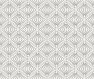 Abstract Naadloos Art Deco Pattern Modieuze antieke achtergrond stock illustratie