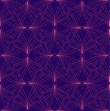 Abstract Naadloos Art Deco Pattern Modieuze antieke achtergrond vector illustratie