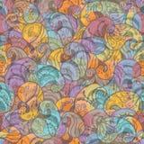 Abstract naadloos behang Stock Foto