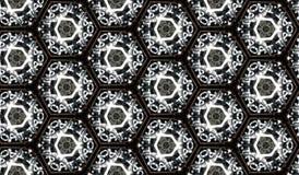 Abstract Naadloos Bitmap Patroon Als achtergrond - Textuurtegel Royalty-vrije Stock Afbeelding