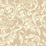 Abstract naadloos bloemenpatroon Royalty-vrije Stock Afbeelding