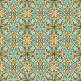 Abstract naadloos canvaspatroon. Royalty-vrije Stock Afbeelding