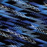 Abstract naadloos chaotisch patroon met stedelijke geometrische elementendriehoeken Stock Afbeeldingen