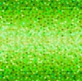 Abstract naadloos de kunst vectorpatroon van het tegelpixel Mozaïek naadloze heldere zwart-wit groene vectorachtergrond Royalty-vrije Stock Fotografie