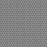 Abstract Naadloos Decoratief Geometrisch Donkergrijs & Zwart Patroon Stock Afbeelding