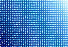 Abstract Naadloos Dots Pattern op de Blauwe Achtergrond van Gradated stock illustratie