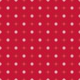 Abstract Naadloos geometrisch bloemenpatroon Stock Foto's