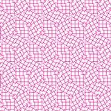 Abstract Naadloos Geometrisch Ornamentpatroon van het Ontwerp van Netlijnen Grafische Vectorillustratie Als achtergrond Royalty-vrije Stock Fotografie