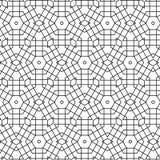 Abstract Naadloos Geometrisch Ornamentpatroon van het Ontwerp van Netlijnen Grafische Vectorillustratie Als achtergrond Royalty-vrije Stock Foto