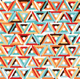 Abstract Naadloos Geometrisch Patroon Royalty-vrije Stock Afbeelding