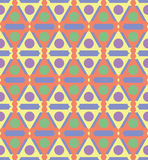 Abstract Naadloos Geometrisch Patroon Royalty-vrije Stock Afbeelding