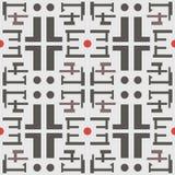 Abstract naadloos geometrisch patroon in een moderne stijl royalty-vrije illustratie