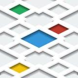 Abstract naadloos geometrisch patroon Kan als achtergrond voor infographics voor bedrijfspresentaties worden gebruikt Stock Fotografie