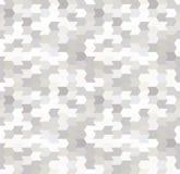 Abstract Naadloos Geometrisch Patroon Optische illusie van motie Royalty-vrije Stock Foto's
