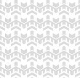 Abstract Naadloos Geometrisch Patroon Optische illusie van motie Stock Fotografie