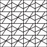 Abstract naadloos geometrisch patroon van cijfers Royalty-vrije Stock Afbeelding