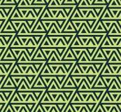 Abstract naadloos geometrisch patroon van driehoeken - vectoreps8 Stock Foto's