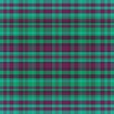 Abstract naadloos geruit Schots wollen stof royalty-vrije illustratie