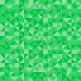Abstract naadloos groen patroon royalty-vrije illustratie