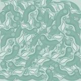Abstract naadloos groen patroon een schaduw stock illustratie