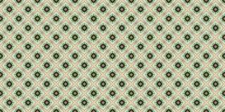 Abstract naadloos groen patroon voor ontwerp Royalty-vrije Stock Foto