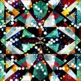 Abstract naadloos kleurenpatroon in graffitistijl kwaliteits vectorillustratie voor uw ontwerp Royalty-vrije Stock Foto's