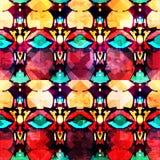 Abstract naadloos kleurenpatroon in graffitistijl kwaliteits vectorillustratie voor uw ontwerp Stock Fotografie