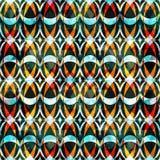 Abstract naadloos kleurenpatroon in graffitistijl kwaliteits vectorillustratie voor uw ontwerp Royalty-vrije Stock Afbeeldingen