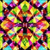 Abstract naadloos kleurenpatroon in graffitistijl kwaliteits vectorillustratie voor uw ontwerp Stock Foto
