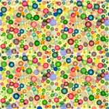 Abstract naadloos kleurrijk patroon Royalty-vrije Stock Foto