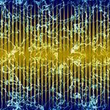 Abstract naadloos marmerpatroon met strepen en aders royalty-vrije illustratie