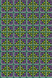 Abstract naadloos middeleeuws patroon Royalty-vrije Stock Afbeelding